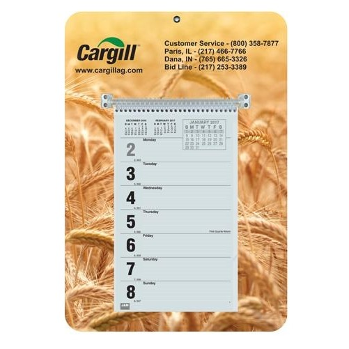 "Weekly Wall Calendars w/Sunday Start (9"" x 12 1/4"")"