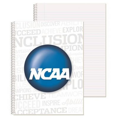 "Wide Ruled Econo Composition Notebook w/4 Color Process (8 1/2"" x 10 1/2"")"
