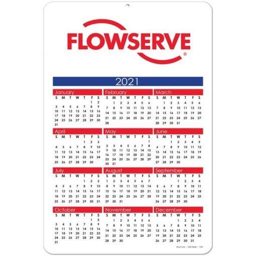 "Year at a Glance Calendar Cards (6"" x 9"")"
