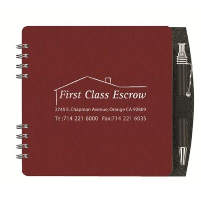 """Classic Square Journal w/50 Sheets & Pen (5"""")"""