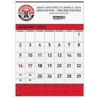 "Contractor Calendar w/1 Image & 2C Imprint (18"" x 25"")"