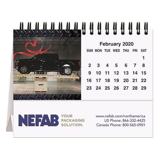 "Custom Photo Tent Desk Calendar (5 13/16"" x 4 1/2"")"