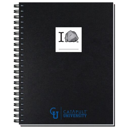 """Shadowbox Smooth Paperboard Journal w/50 Sheets (8 1/2"""" x 11"""")"""