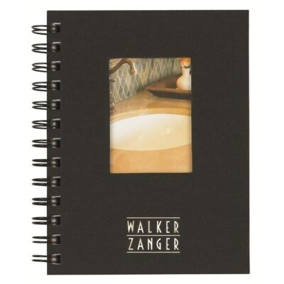 """Shadowbox Smooth Paperboard Journal w/50 Sheets & Pen (7"""" x 10"""")"""